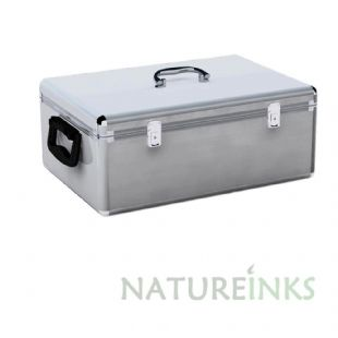 MediaRange Silver 500 DJ Storage case Box77